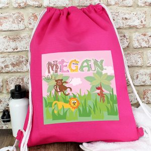 Personalised Girls Kit Bag