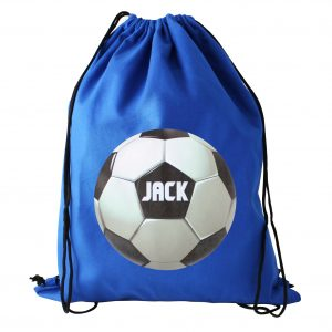 Personalised Football P.E. Bag