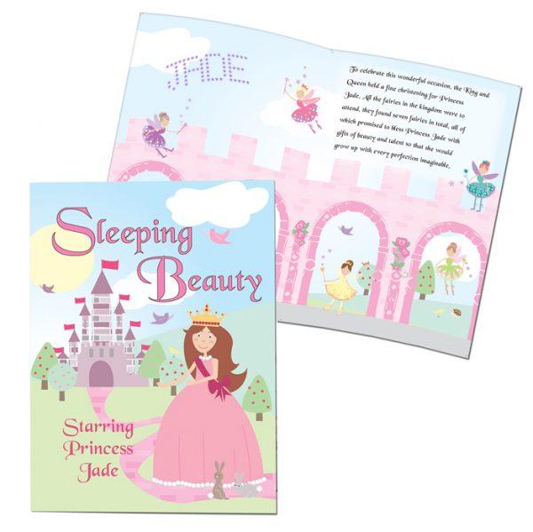 Personalised Sleeping Beauty Book