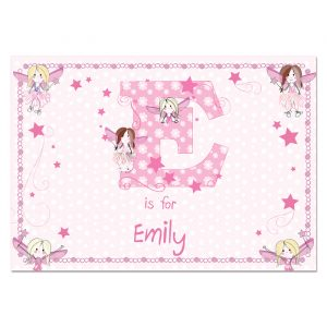 Fairy Personalised Placemat