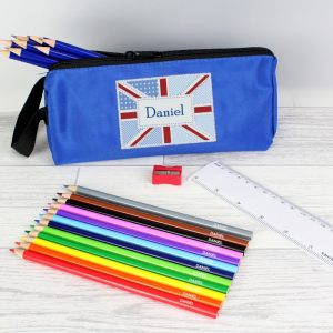 Union Jack Personalised Pencil Case