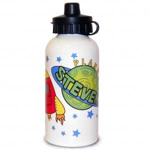 Personalised Space Water Bottle