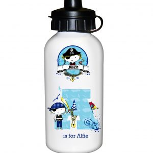 Personalised Pirate Water Bottle