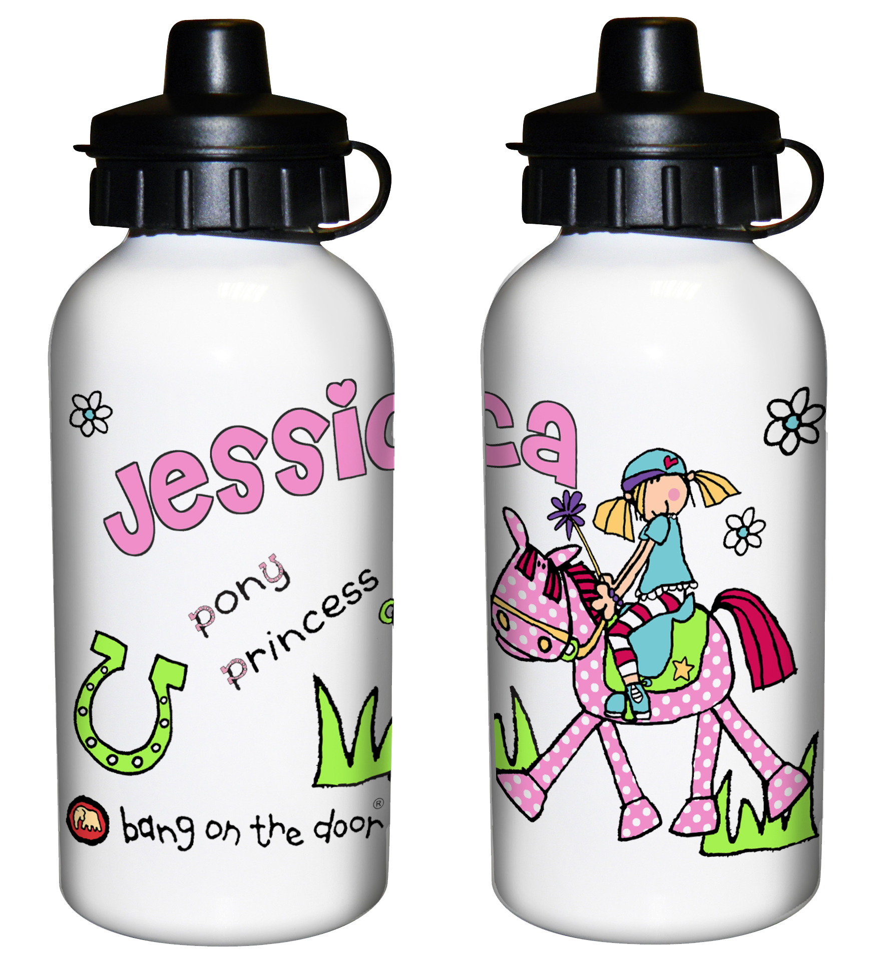 aa2165d490 Bang on the Door Pony Girl Drinks Bottle – Personalised Kids Gifts ...