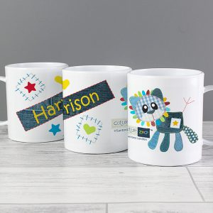 Lion Personalised Plastic Cup