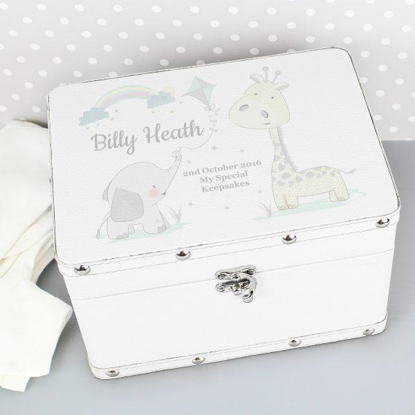 Personalised Leatherette Keepsake Box