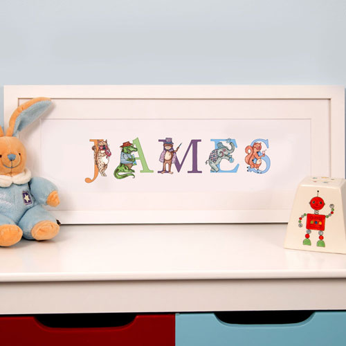 Illustrated Name Frame