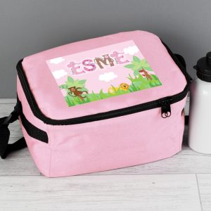 Personalised Animal Alphabet Lunch Bag