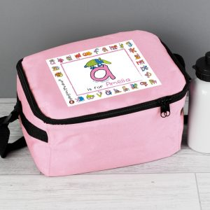 Personalised Animal Alphabet Lunch Box