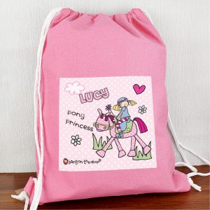 Personalised Bang on the Door Pony Girl Kit Bag