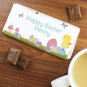 Personalised Chocolate Bar Easter