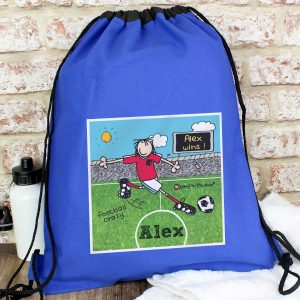 Personalised Football Crazy Kit Bag