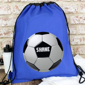 Personalised Football Kit Swim P.E. Bag