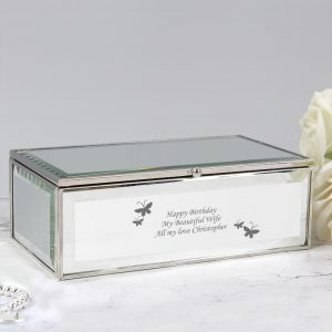 Personalised Girls Jewellery Box