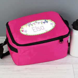 Personalised Girls Lunch Bag
