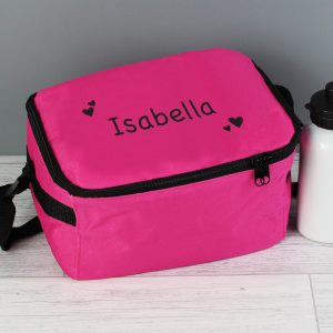 Personalised Girl's Lunch Bag