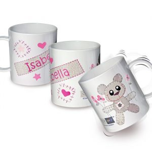 Personalised Girls Plastic Mug