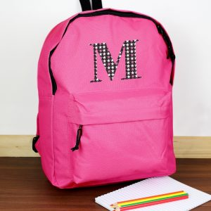 Personalised Initial School Bag