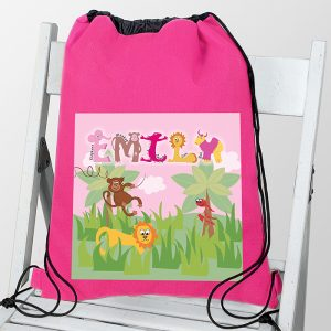 Personalised Kit Bag - Animal Alphabet