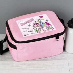 Personalised Pony Lunch Bag