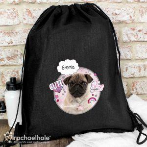 Personalised Pug Kit Bag