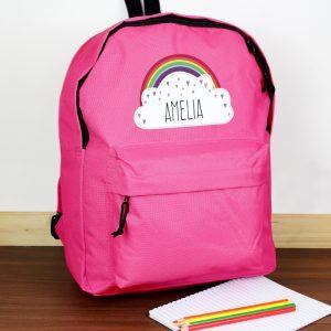 Personalised School Backpack Bag