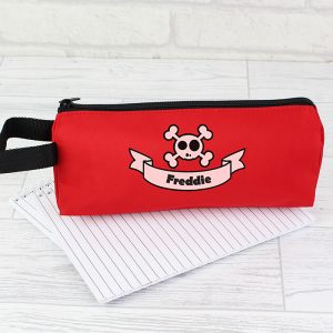 Personalised Skull Pencil Case
