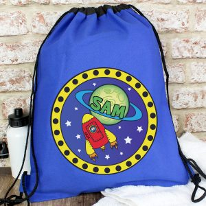 Personalised Space P.E. Kit Swim Bag