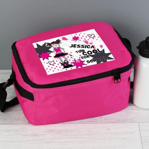 Personalised Too Cool for School Lunch Bag