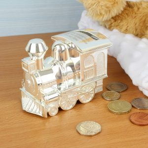 Personalised Train Money Box
