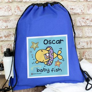 Personalised Young Boys Swim Kit Bag