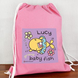Personalised Young Girls Swim Kit Bag