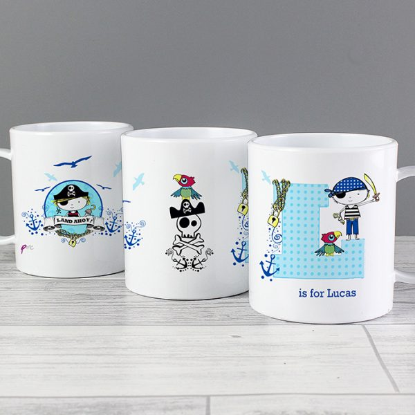 Pirate Personalised Plastic Cup