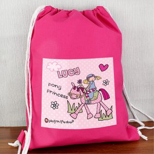 Pony Girl Personalised Kit Bag