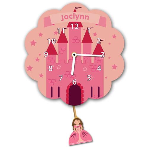 Princess Castle Wall Clock