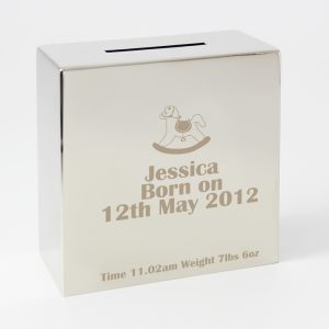 Rocking Horse Personalised Money Box