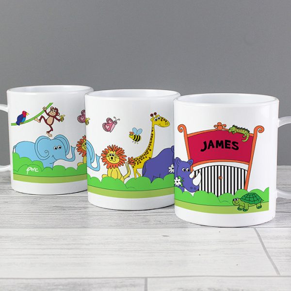 Zoo Personalised Plastic Cup