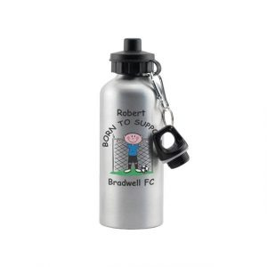 Personalised Football Drinks Bottle