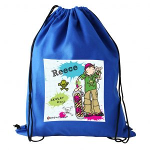 Skater Boy Personalised Kit Bag