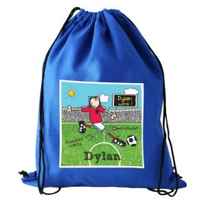 Persoanlised Football P.E. Kit Bag
