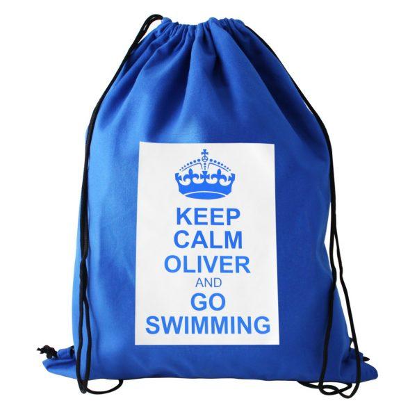Personalised Keep Calm Kit Bag