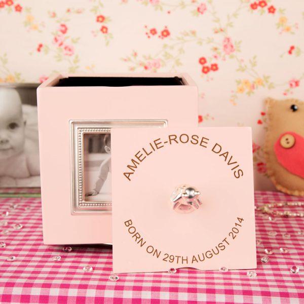 Personalised Music Box Baby Girl