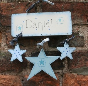 Personalised Stars Name Plaque