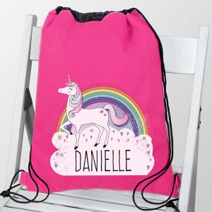 Personalised Unicorn Kit Bag