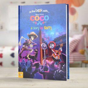 Disney Pixar Coco Personalised Book