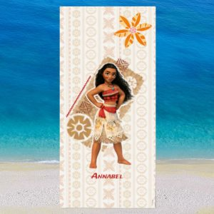 Personalised Moana Beach Towel