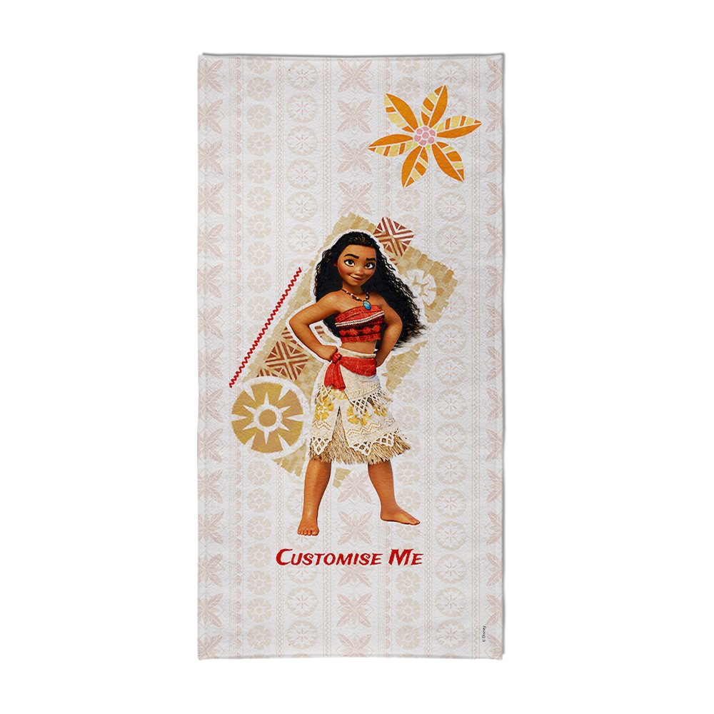 Personalised Moana Beach Towel