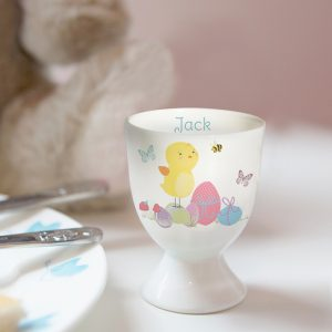 Personalised Egg Cup Easter Chick