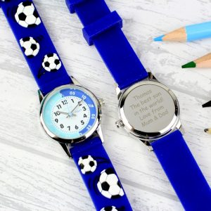 Personalised Boys Time Teacher Watch