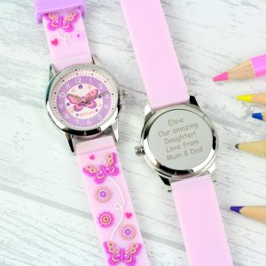 Personalised Girls Time Teacher Watch